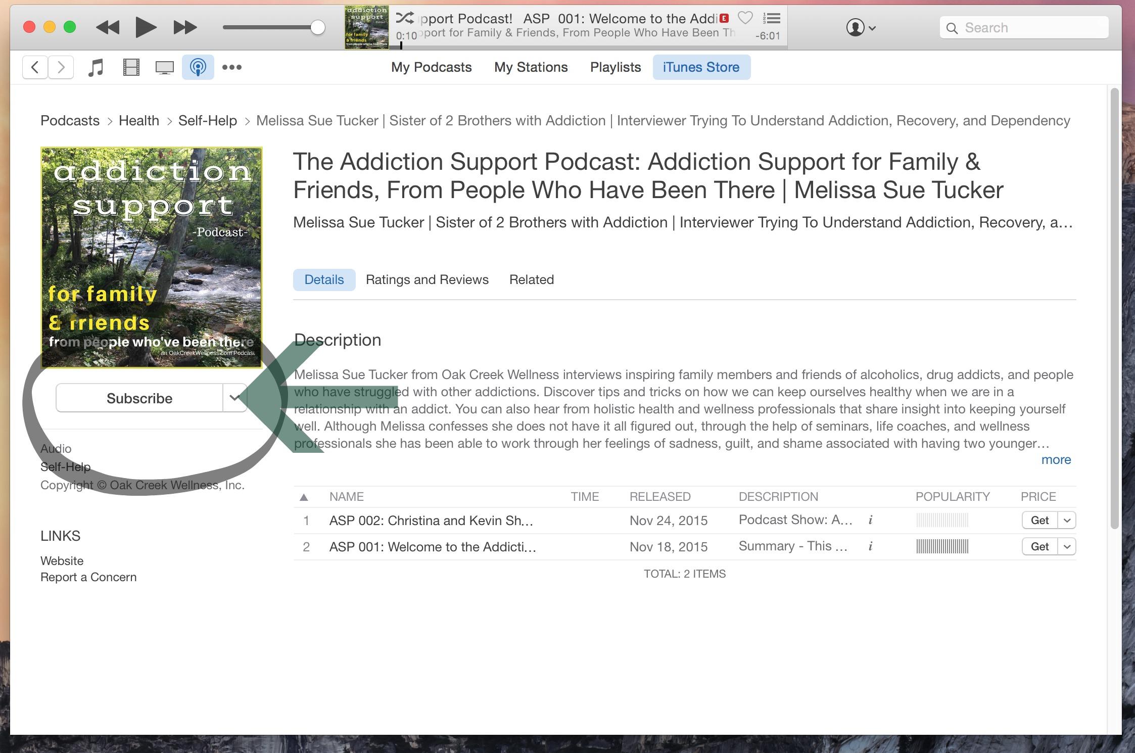 ASP iTunes Review 2