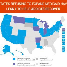 states refusing to expand medicaid