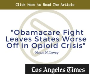 Obamacare Fight Leaves States Worse Off in Opioid Crisis